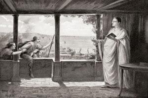 Ovidio a Tomi, sul Mar Nero.
