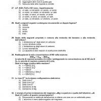 Test Veterinaria 2020: domande di chimica