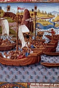 Miniatura del manoscritto Ab Urbe condita libri di Tito Livio