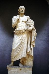 Euripide, autore di tragedie greche