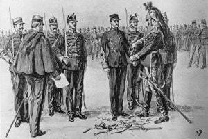 Degradazione di Dreyfus, 5 gennaio 1895