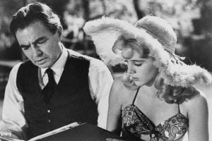 Lolita, immagine tratta dal film di Stanley Kubrick del 1962