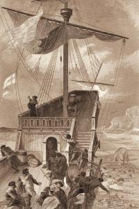 L'arrivo di Giovanni Caboto in Canada, 1497