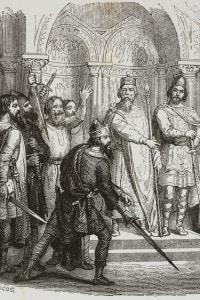 Re Desiderio. Atto I, Scena V dell'Adelchi di Manzoni