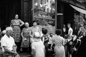 Donne italoamericane a Little Italy. New York, anni '50