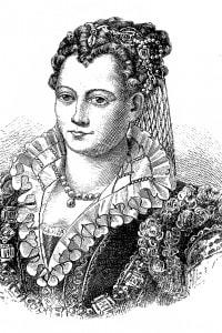 Illustrazione di Lucrezia Borgia (1480-1519)