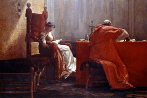 Lucrezia Borgia e papa Alessandro VI