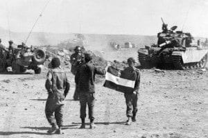 Guerra del Kippur. Foto del 18 ottobre 1973