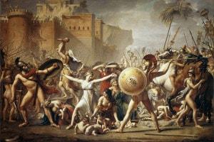 Le sabine, dipinto di Jacques Louis David