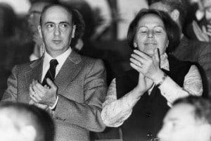 Nilde Iotti e Giorgio Napolitano