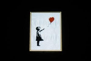 Ragazza con il palloncino, Banksy