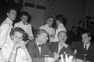 Drusilla Tanzi con il marito Eugenio Montale