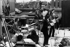 Il famoso Rooftop Concert dei Beatles