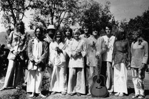 Uno dei ritiri spirituali dei Beatles presso Mahareshi Mahesh Yogi