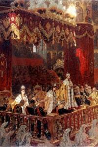 Incoronazione di Nicola II di Russia (1868-1918), maggio 1896