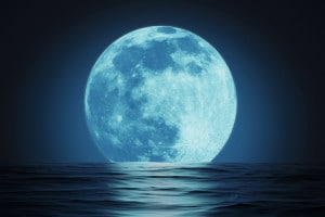 La luna: tesina di terza media