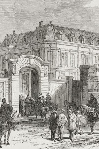 Residenza di Otto von Bismarck in Rue de Provence, Versailles