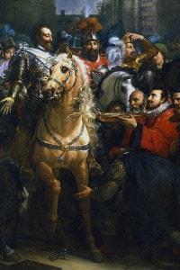 Enrico IV di Francia entra a Parigi, 22 marzo 1594