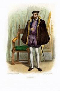 Gaspard de Coligny. Nobile, ammiraglio francese e leader degli ugonotti