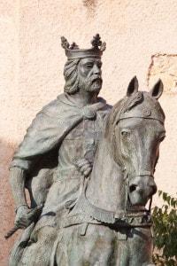 Statua di Alfonso VIII, re di Castiglia