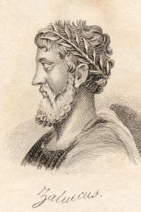 Il legislatore greco Zaleuco di Locri
