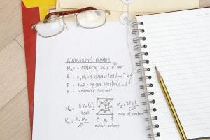 Numero di Avogadro: dimostrazione