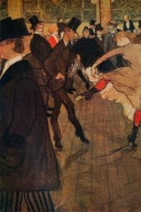 Danza al Mouline Rouge di Henri de Toulouse-Lautrec
