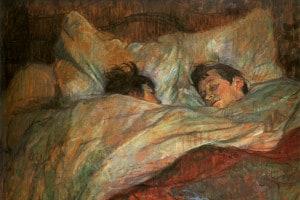 A letto di Toulouse-Lautrec, 1892