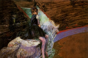 Al circo Fernando di Toulouse-Lautrec, 1888