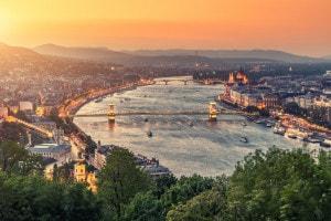 Budapest, fiume Danubio
