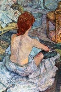 La Toilette di Toulouse-Lautrec, 1896