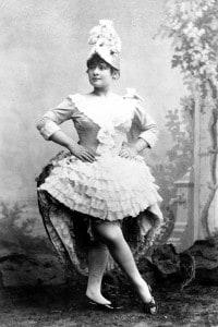 Louise Weber (1870-1929), ballerina francese di cancan alle Folies Bergeres, modella di Toulouse-Lautrec
