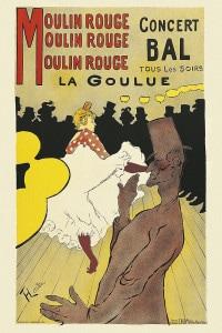 Manifesto per il Moulin Rouge di Toulouse-Lautrec, 1894. Musée Toulouse-Lautrec di Albi
