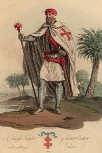 Cavaliere Templare in uniforme, 1309