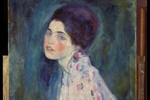 Ritratto di signora di Gustav Klimt, 1916. Olio su tela, cm 68 x 55