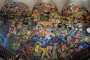 Murale di Diego Rivera