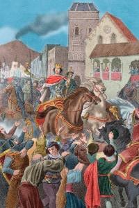 Ingresso trionfale a Napoli di Alfonso V d'Aragona, 1442