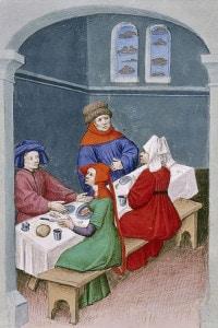 Decameron di Boccaccio: miniatura
