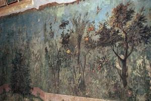 Arte romana. Affresco di Villa Livia, moglie dell'imperatore Augusto