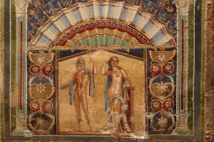Mosaico della casa di Nettuno e Anfitrite, Ercolano