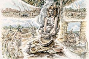 Produzione del grano nel neolitico