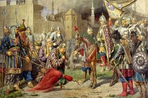 La conquista di Kazan nel 1552 di Ivan IV il Terribile