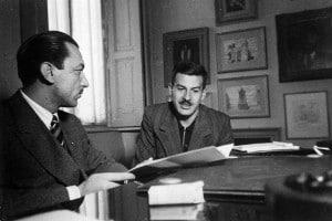 Elio Vittorini e Alberto Mondadori