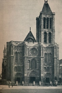 Abbazia di Saint-Denis, Parigi. Prima chiesa in stile gotico