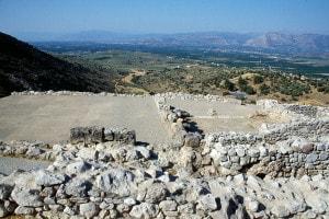 Megaron del palazzo reale, Micene