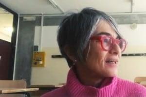 La prof.ssa Gloria Ghetti