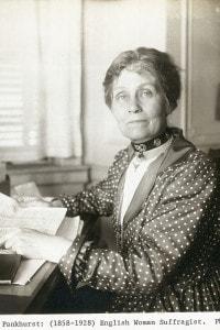 Emmeline Pankhurst (1858-1928)