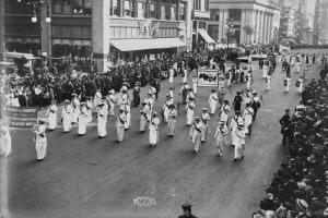 Parata del suffragio femminile a New York City, 1913