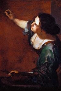 Autoritratto come allegoria della pittura di Artemisia Gentileschi, 1638-9