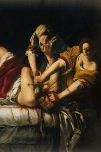 Giuditta e Oloferne di Artemisia Gentileschi